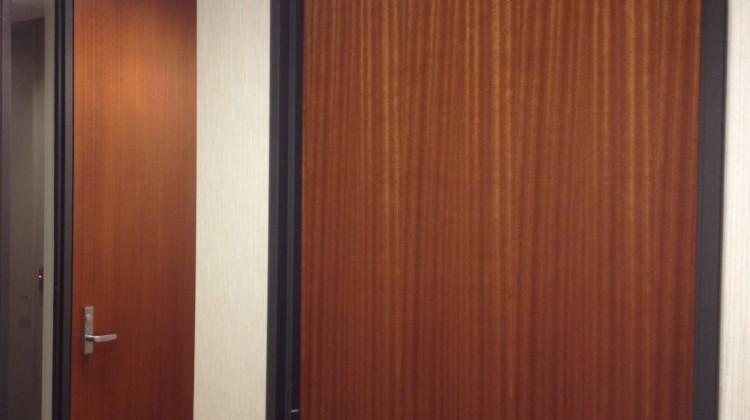 Door toning after