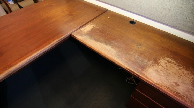 Office desk before 2