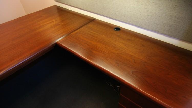 Office desk after 2