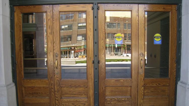 Union Depot Doors, after