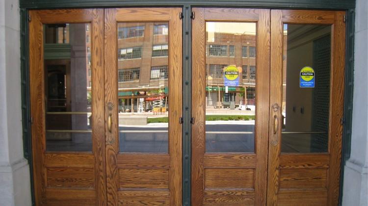 doors refinished