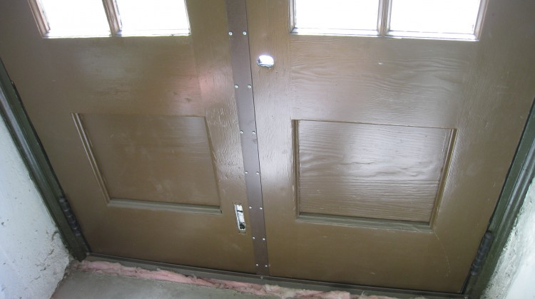 Freight door, after