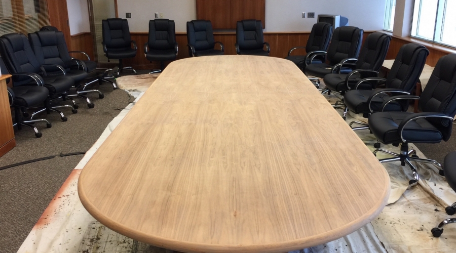 Onsite office furniture refinishing office furniture touchup