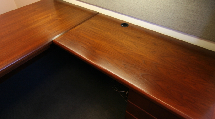 Desk refinished
